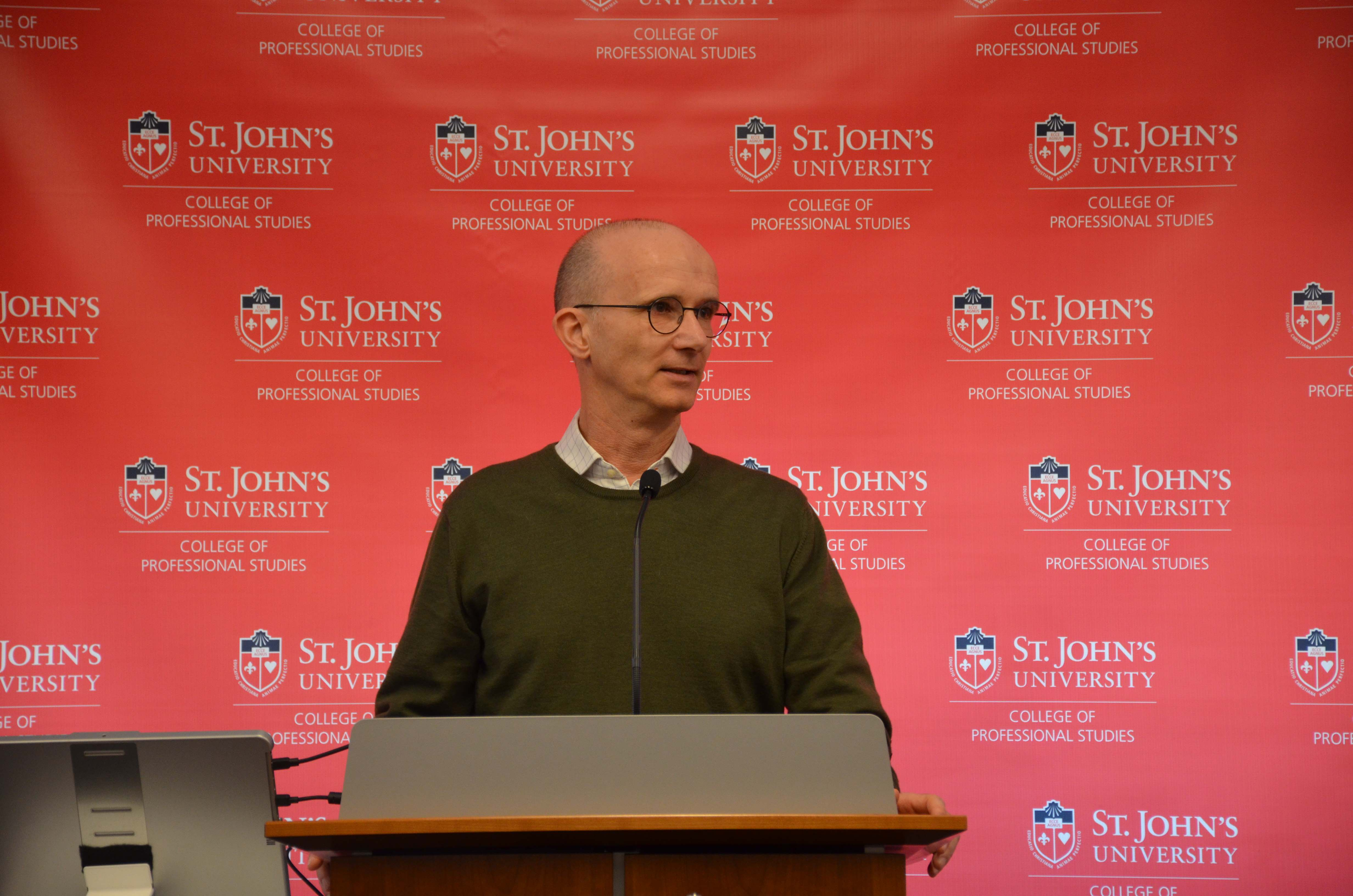 Conference, St.John's University, New York 2018